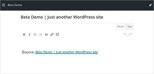 press-this-wordpress-4-3